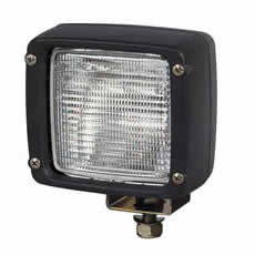 Work Lamp Black Compact Bx1