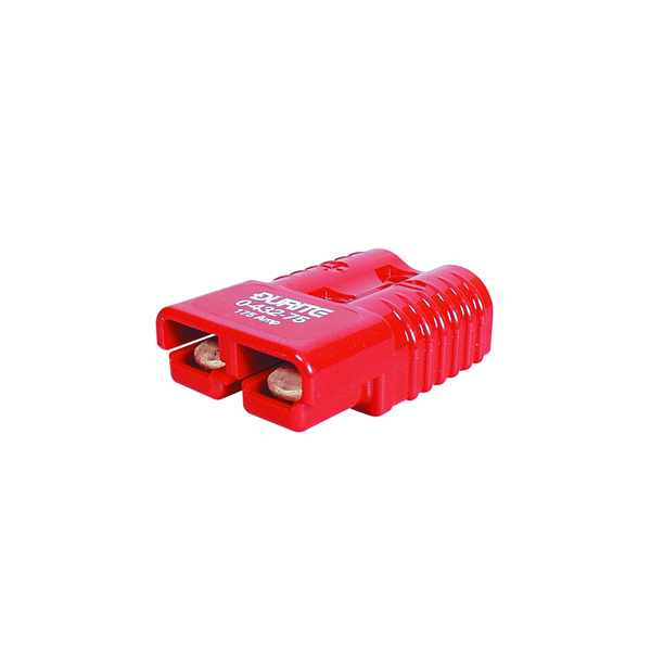 Connector 2 Pole High Current Red 50 amp Bg1