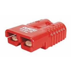 Connector 2 Pole High Current Red 350 amps Bg1