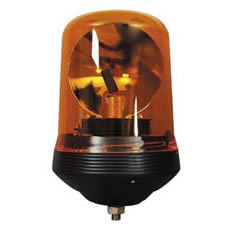 Beacon Rotating 12/24 volt Amber Single Bolt Fixing Bx1