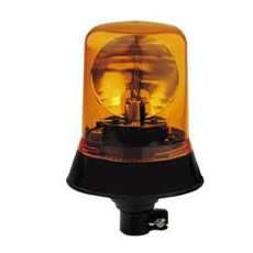 Beacon Rotating 12/24 volt Amber DIN Spigot Fixing Bx1