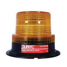 Beacon Low Profile LED 11-110 volt Amber Magnetic Fixing Bx1
