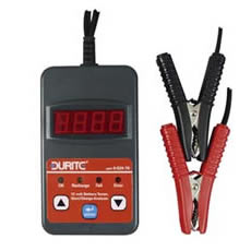 Battery Tester with Start/Charge Analyzer 12 volt Cd1
