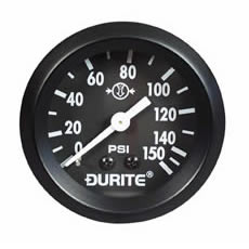 Air Pressure Gauge 52mm Mechanical with 12 Capillary Bx1