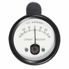 Ammeter Clip-on Induction 30-0-30 amp Bx1