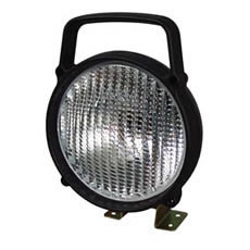 Work Lamp Black Plastic with Polycarbonate lens Bx1