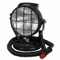 Work Lamp Black Plastic with Magnetic Base and Cable Bx1