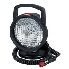 Work Lamp Black Plastic with Magnetic Base Bx1