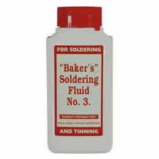 Soldering Fluid Bakers No 3 125ml Bottle