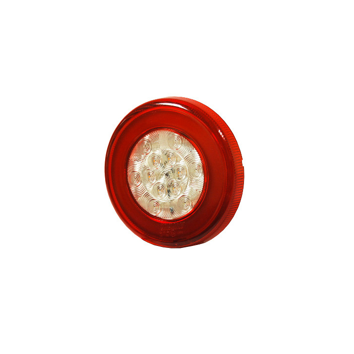 LED rear lamp. Stop/Tail/D.I. Functions 12/24V, IP67,  Bx1