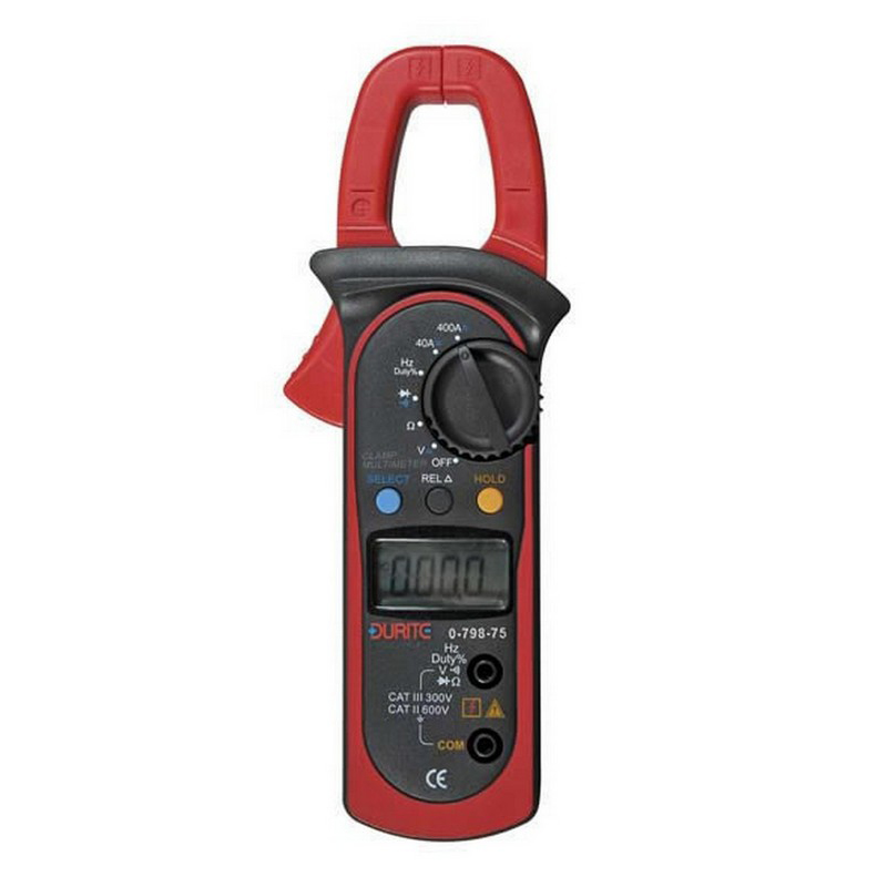 Multimeter Digital AC/DC Clamp Hand Held Cd1