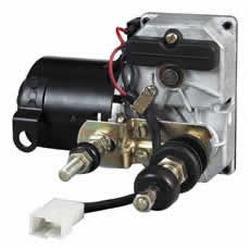 Wiper Motor 12 volt Switched/Autopark 58mm Shafts 80ø Bx1