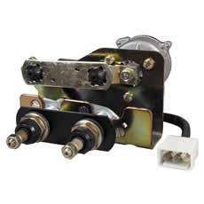 Wiper Motor 12 volt 2 Speed Autopark 50mm Shafts 60-70-80ø Bx1