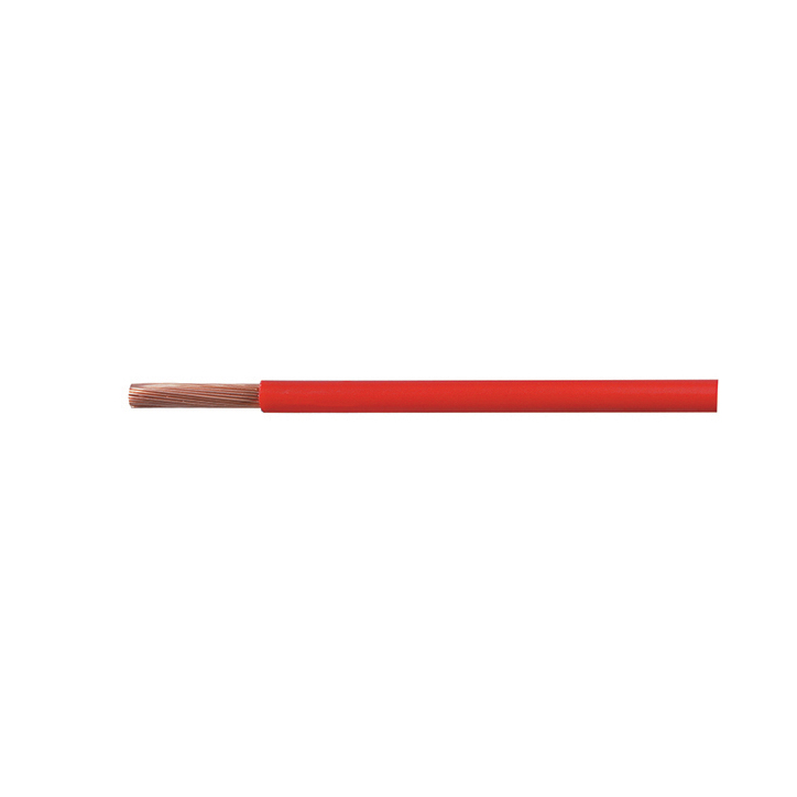 Cable Starter 266/0.30mm Red PVC 10M