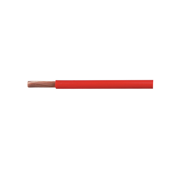 Cable Starter 37/0.90mm Red PVC 10M