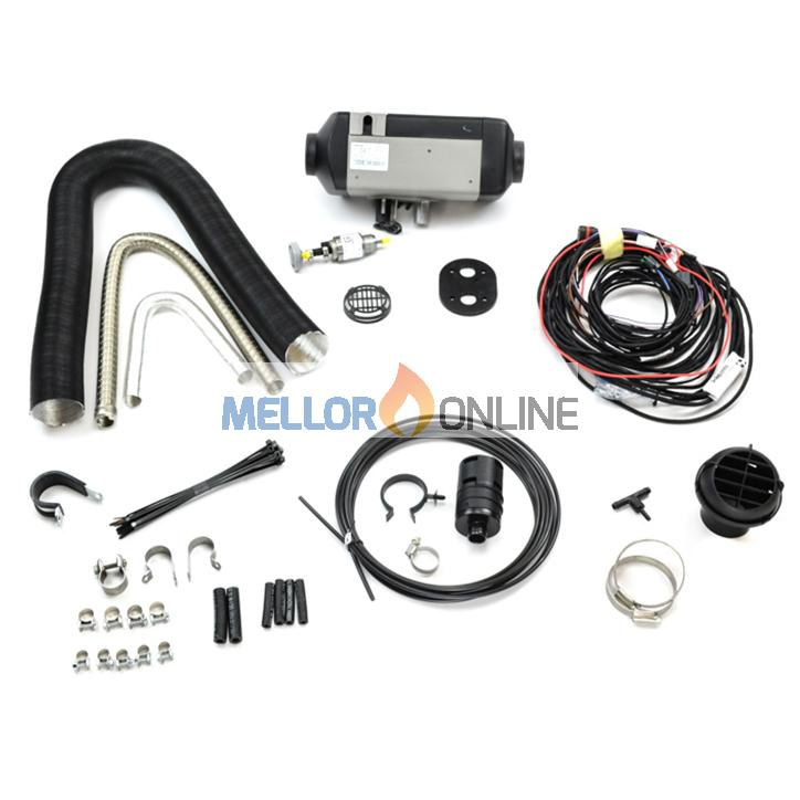 Webasto AirTop 2000STC Petrol (Gasoline) Single Outlet 12v Heater Kit 41SK464