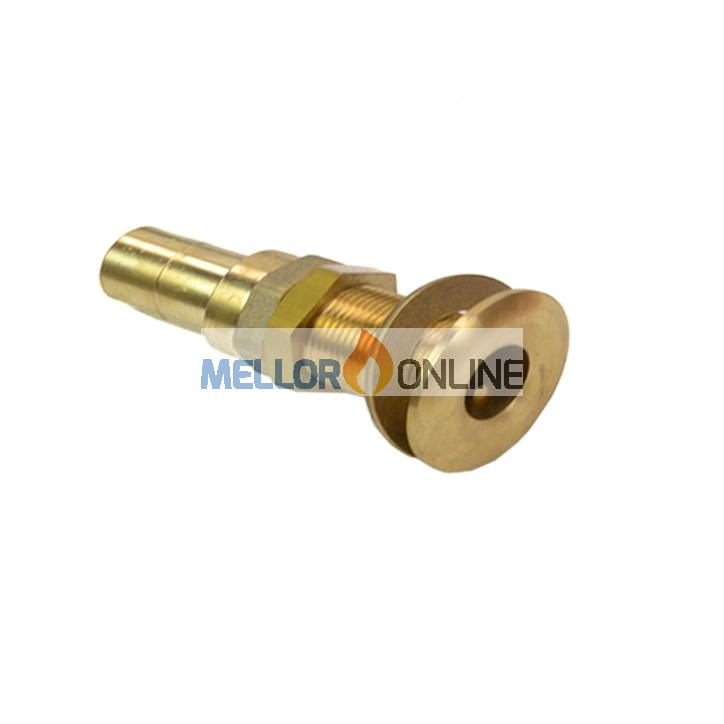 22mm Brass Exhaust Terminal