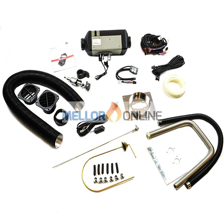 MV Airo 2 universal 1 Outlet Kit - 2kw Diesel 12v with Timer Controller