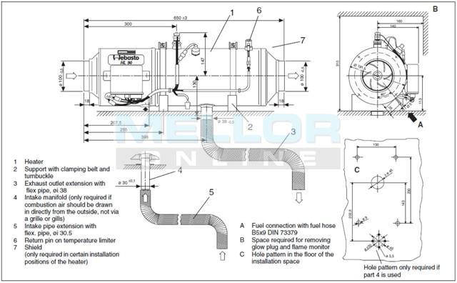 webasto heater wiring diagram gsm remote also webasto heater parts