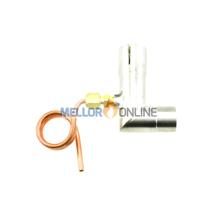 Eberspacher/Webasto Vertical Stainless Polished 24mm Exhaust Drain