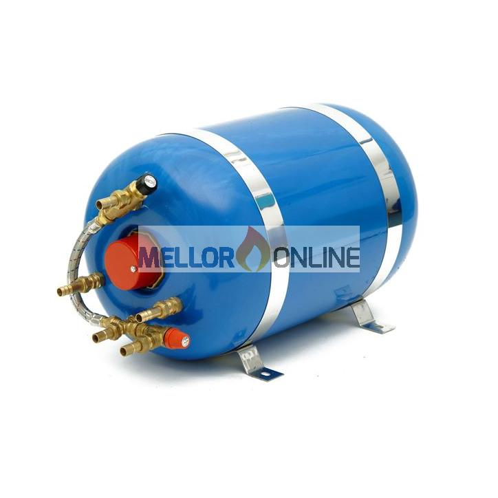 30 litre horizontal single coil Surecal calorifier