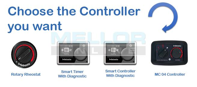 Webasto Air Top Evo 40 4kw Heater Kit 12v With Smart
