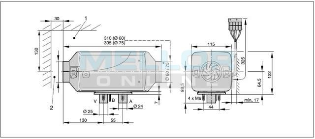 eberspacher 801 wiring diagram: 1 outlet 2 2kw with new 801 and  rh:melloronline