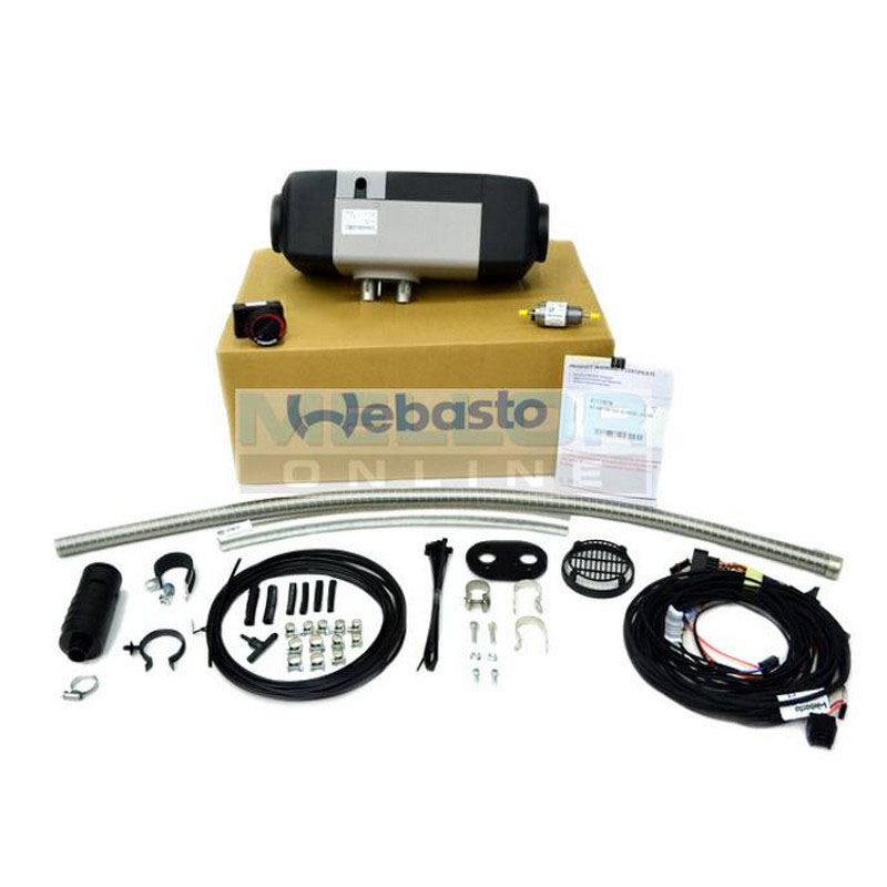 Webasto Air Top EVO 40 4kw heater Kit 12v with Rotary Control (Petrol)