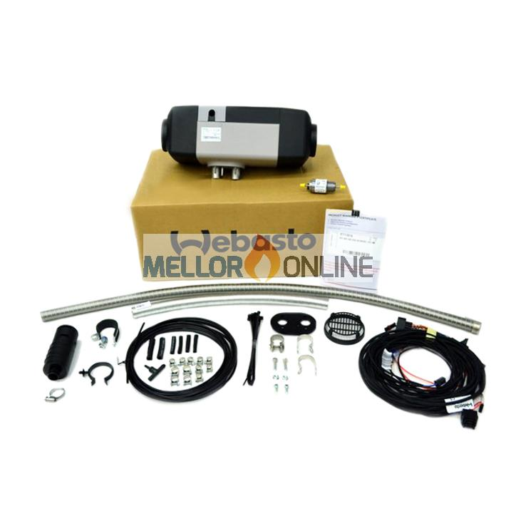 Webasto Air Top EVO 55 5.0kw heater Kit 12v with Rotary Control