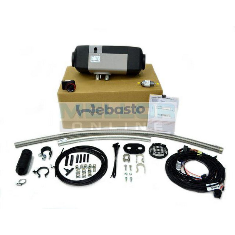 Webasto Air Top EVO 55 5.0kw heater Kit 12v with Rotary Control (Petrol)