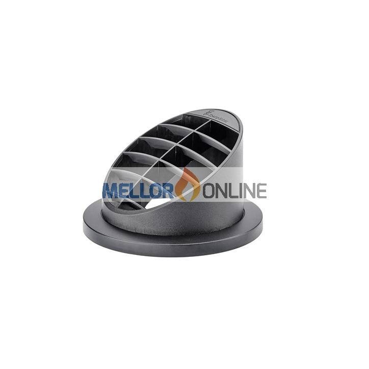 Eberspacher Air Outlet 60mm High 30 Black with Fitting Flange