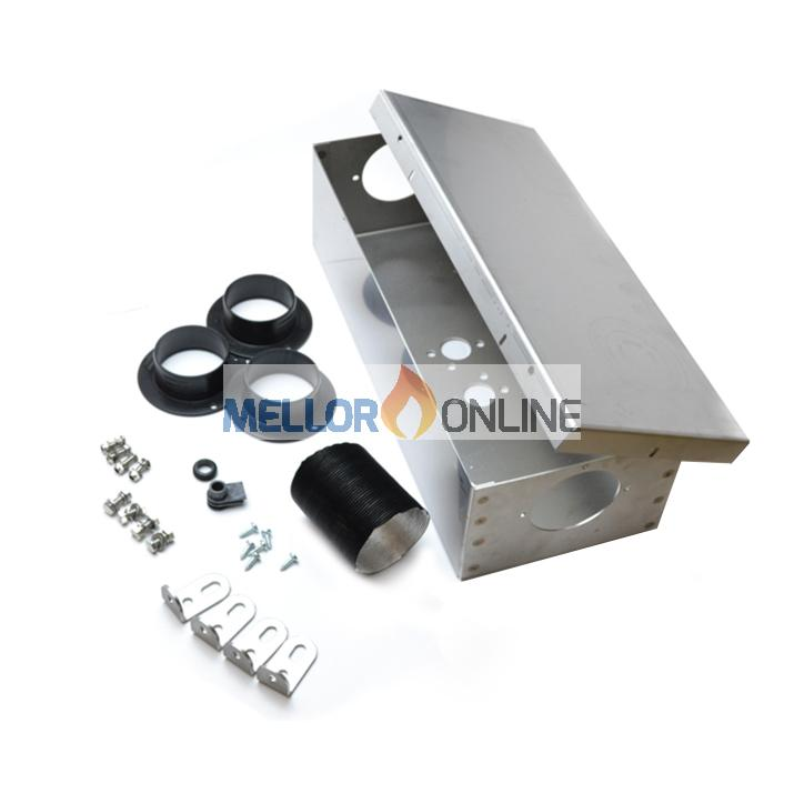 External Heater mounting Kit Stainless Steel 60mm D2/Airtop 2000