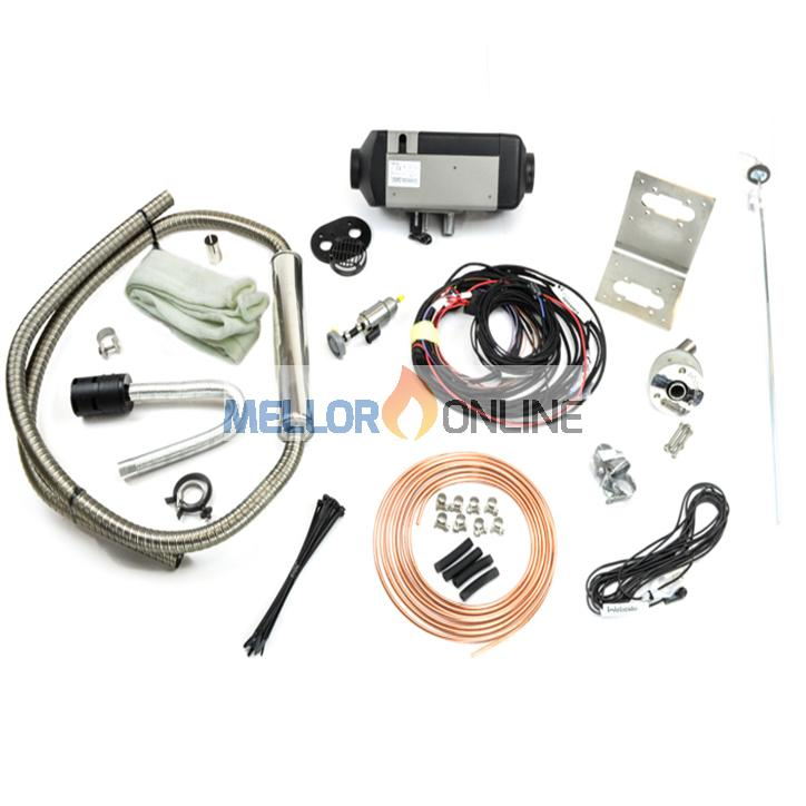 Webasto Air Top 2000 STC Marine Kit 12v with integrated Silencer