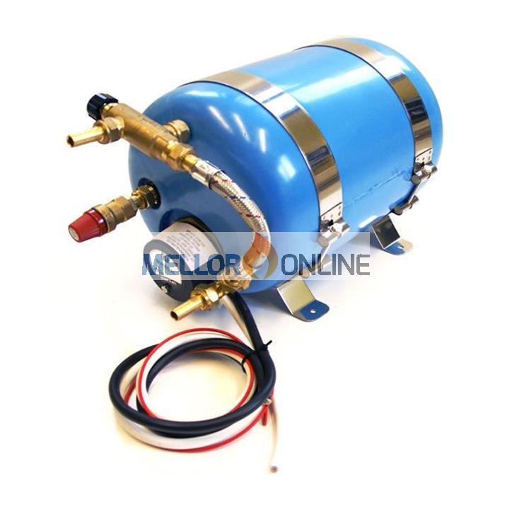 6 Litre 12v/240v Motorhome Water Heater (No Coil)