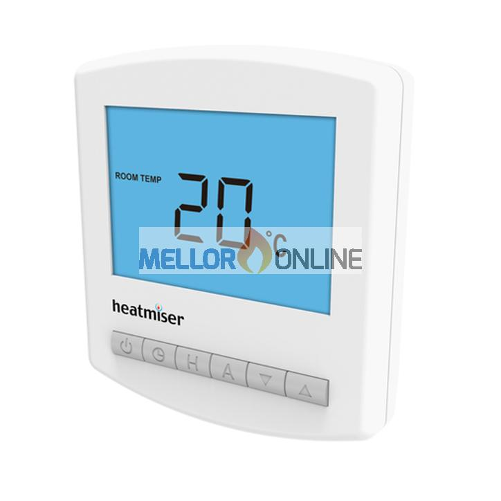Heatmiser PRT-B - 7 Day Programmable Thermostat with Temp Air Sensor