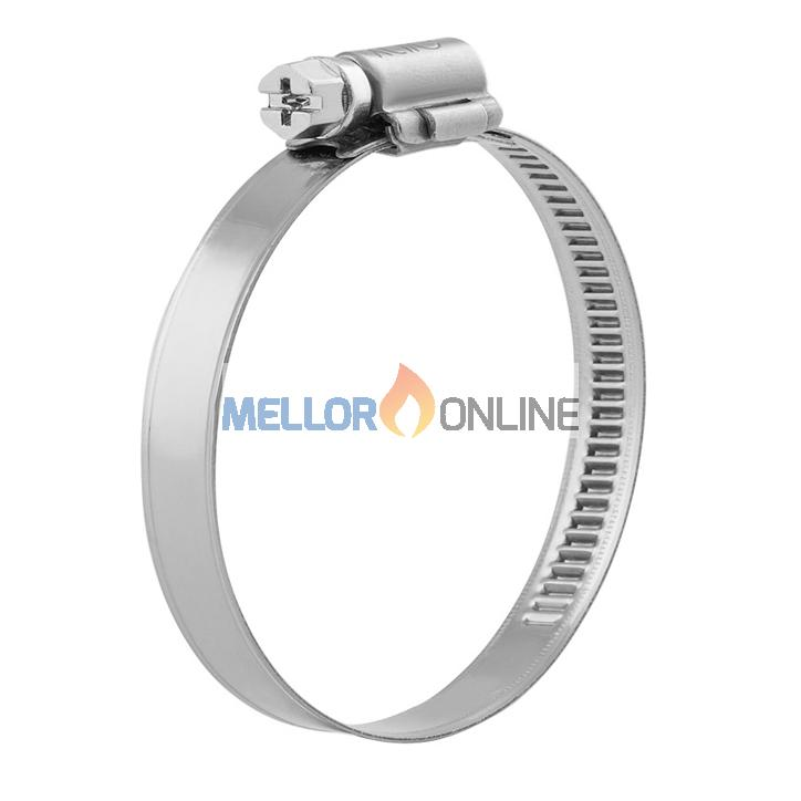 Stainless Steel Hose Clamp for 75mm ID Ducting