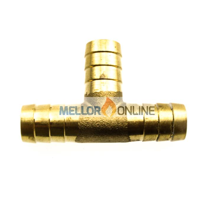 Webasto Brass Tee 19mm - for 19mm ID Water hose