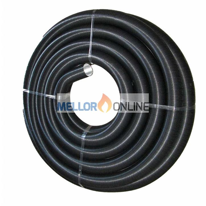 90mm Warm Air APK Ducting 25 Meter Coil