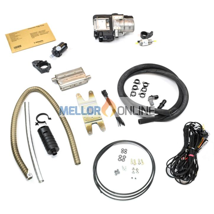 Webasto Thermo Top Evo 4 Water Heater kit 12v 4kw