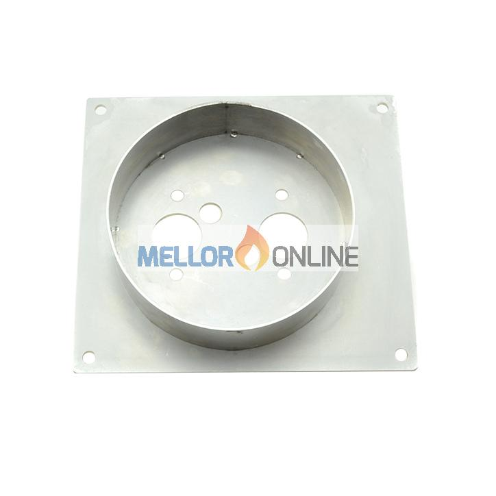Heater Floor Mounting Plate Stainless Steel