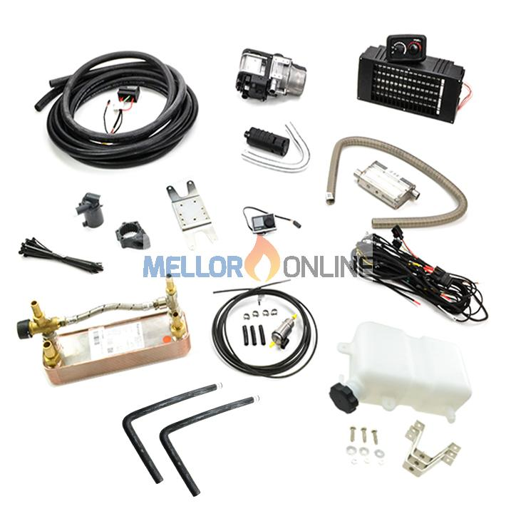 Webasto Thermo Top Evo 5 RV VW water system with plate Heat ... on