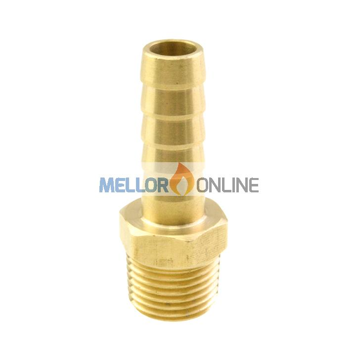 Webasto Tail Connector 1/2 inch to 12mm ID for 12mm ID Water hose