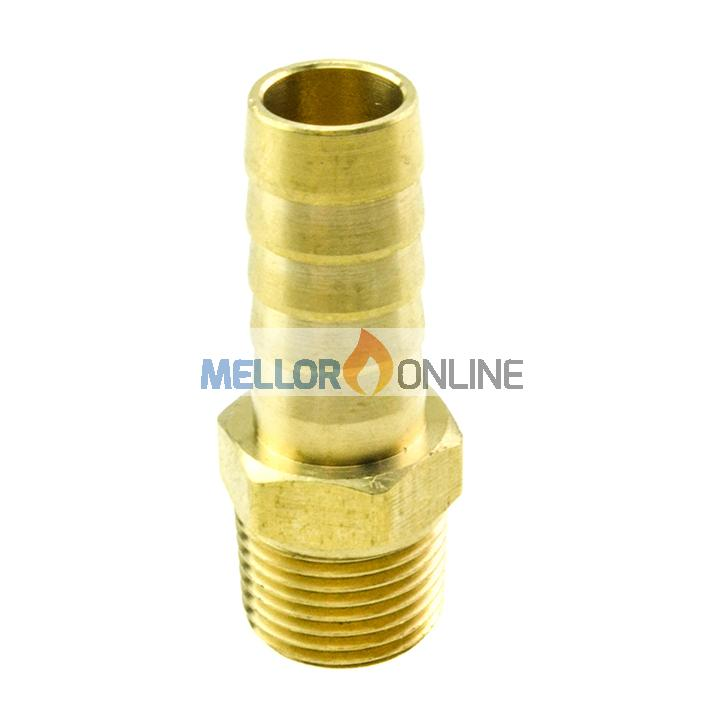 Webasto Tail Connector 1/2 inch to 16mm ID for 16mm ID Water hose
