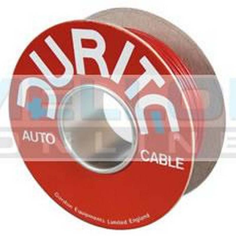 Cable Single 35/0.30mm Red PVC 50M