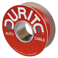 Cable Single 65/0.30mm Red PVC 100M